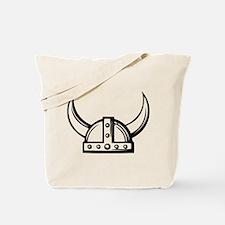 Viking Helmet Tote Bag