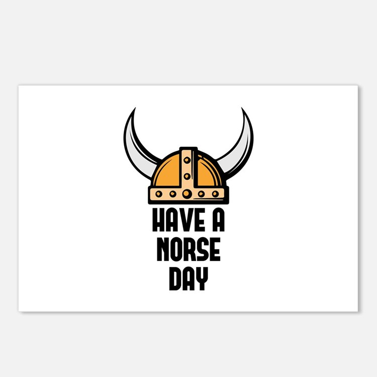 Have a norse day - Viking Postcards (Package of 8)