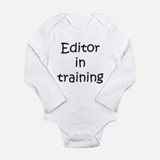 Editor in training Body Suit