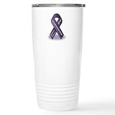Domestic Violence Victim to Suvivor Travel Mug