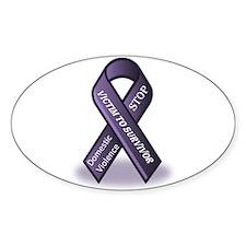 Domestic Violence Victim to Suvivor Decal