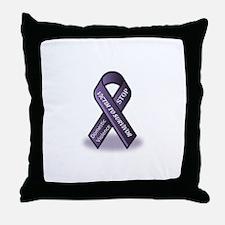 Domestic Violence Victim to Suvivor Throw Pillow