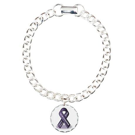 Domestic Violence Victim to Suvivor Charm Bracelet