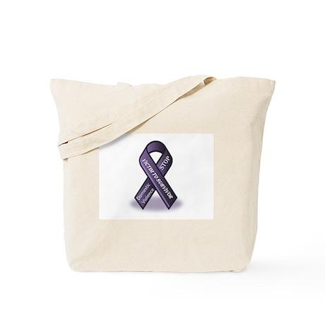 Domestic Violence Victim to Suvivor Tote Bag