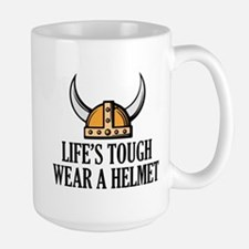 Wear A Helmet Mug