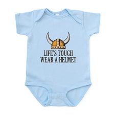 Wear A Helmet Infant Bodysuit