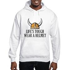 Wear A Helmet Jumper Hoodie