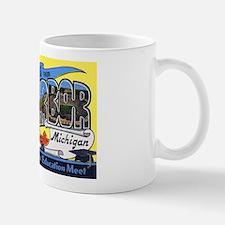 Ann Arbor Michigan Greetings Mug