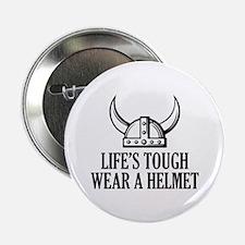"""Wear A Helmet 2.25"""" Button"""
