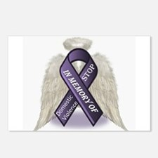 Domestic Violence Angel Postcards (Package of 8)