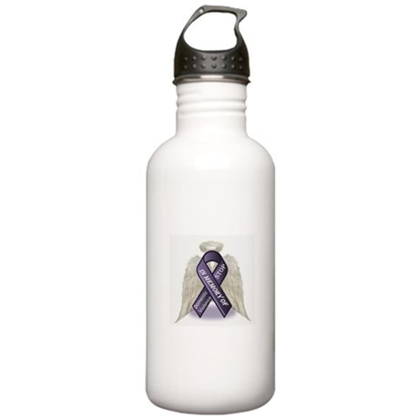 Domestic Violence Angel Stainless Water Bottle 1.0