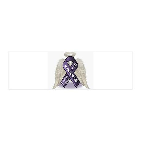 Domestic Violence Angel 20x6 Wall Decal
