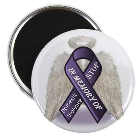 Domestic Violence Angel Magnet