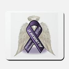 Domestic Violence Angel Mousepad