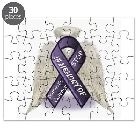 Domestic Violence Angel Puzzle