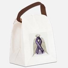 Domestic Violence Angel Canvas Lunch Bag