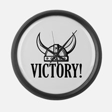 Victory! Large Wall Clock