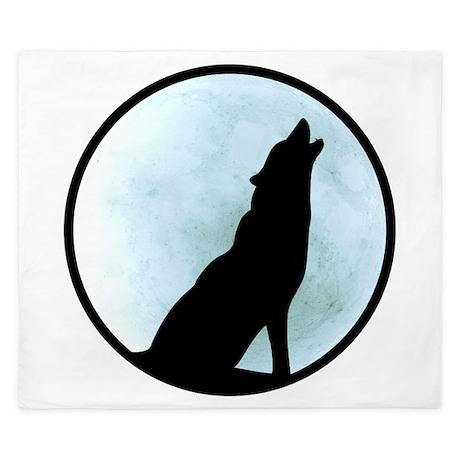 Wolf Howl King Duvet