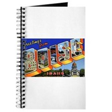 Boise Idaho Greetings Journal
