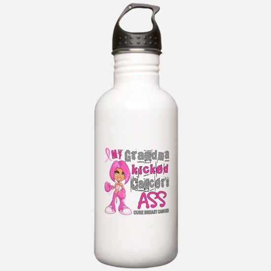 Loved One Kicked Breast Cancer's Ass 42 Water Bottle