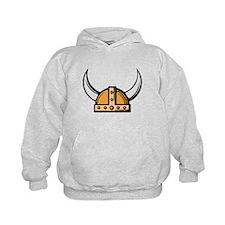 Viking Helmet Hoodie