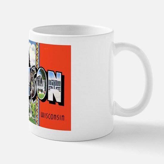Madison Wisconsin Greetings Mug