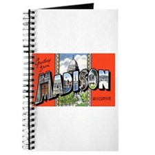 Madison Wisconsin Greetings Journal
