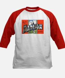 Madison Wisconsin Greetings (Front) Tee