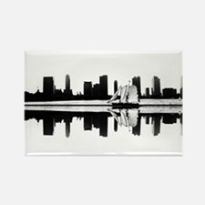 NYC Reflection Rectangle Magnet