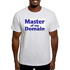 Master of my Domain - Ash Grey T-Shirt