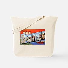 Memphis Tennessee Greetings Tote Bag