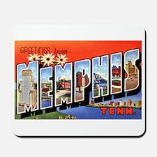 Memphis Tennessee Greetings Mousepad