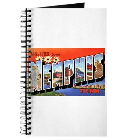 Memphis Tennessee Greetings Journal