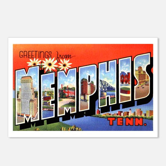Memphis Tennessee Greetings Postcards (Package of