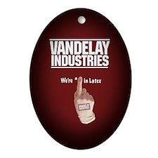 Vandelay Industries -  Oval Ornament