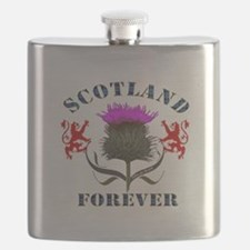 Scotland Forever Thistle Flask