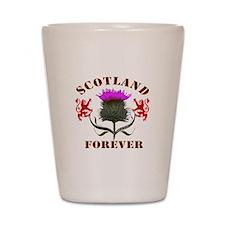 Scotland Forever Thistle Shot Glass