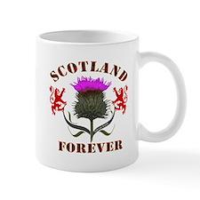 Scotland Forever Thistle Mug