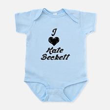 I Heart Kate Beckett Infant Bodysuit
