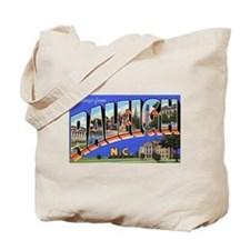 Raleigh North Carolina Greetings Tote Bag