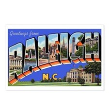 Raleigh North Carolina Greetings Postcards (Packag