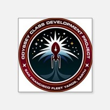 Odyssey Class Starship Development Patch Square St