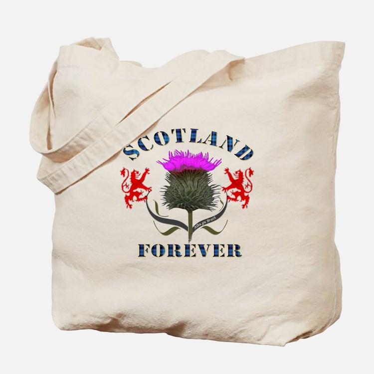 Scotland Forever Thistle Tote Bag