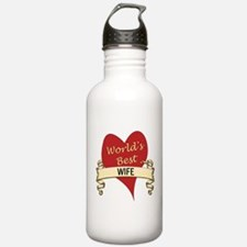 Cute Greatest wife Water Bottle