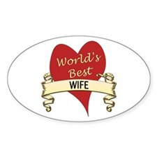Unique Greatest wife Decal