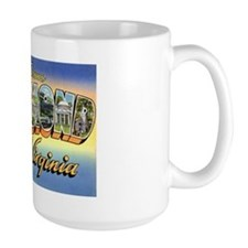 Richmond Virginia Greetings Mug