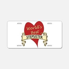 Cute Sister in law Aluminum License Plate
