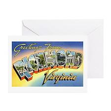 Richmond Virginia Greetings Greeting Cards (Packag