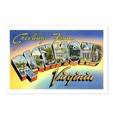 Richmond Virginia Greetings Postcards (Package of