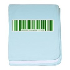Generic ZOMBIE Costume Barcode Infant Blanket